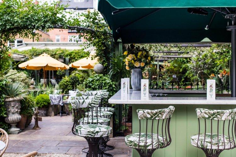 Ivy Chelsea Garden - al fresco dining London