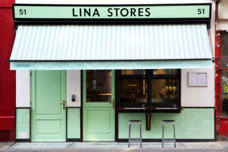 Lina Stores - al fresco dining London