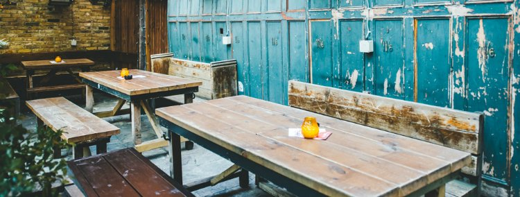 Lock Tavern - rooftop bars in London