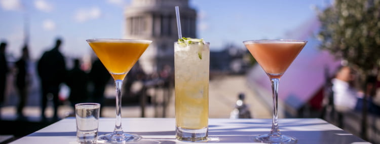 Madison - rooftop bars in London