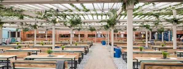 Pergola Paddington Central - Rooftop bars in London
