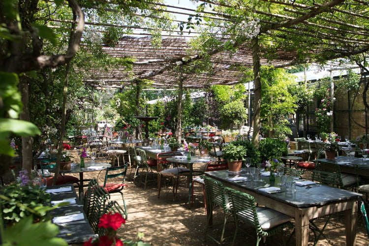 Petersham Nurseries - best restaurants in London