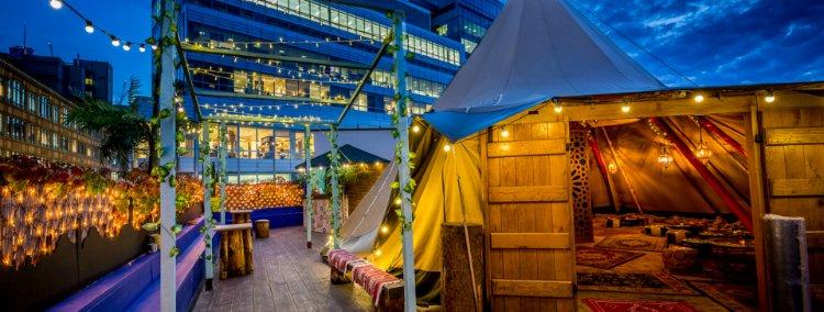 Queen of Hoxton - rooftop bars in London