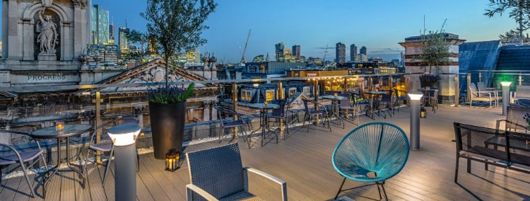Shoreditch Sky Terrace - rooftop bars in London