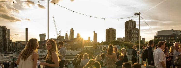 Skylight - best rooftop bars in London