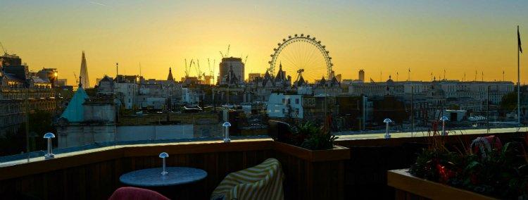 Trafalgar St James - rooftop bars in London