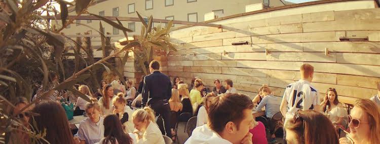 Vivo terrace - rooftop bars in London