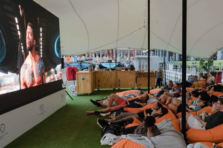 Floating Film Fest pop up cinema london