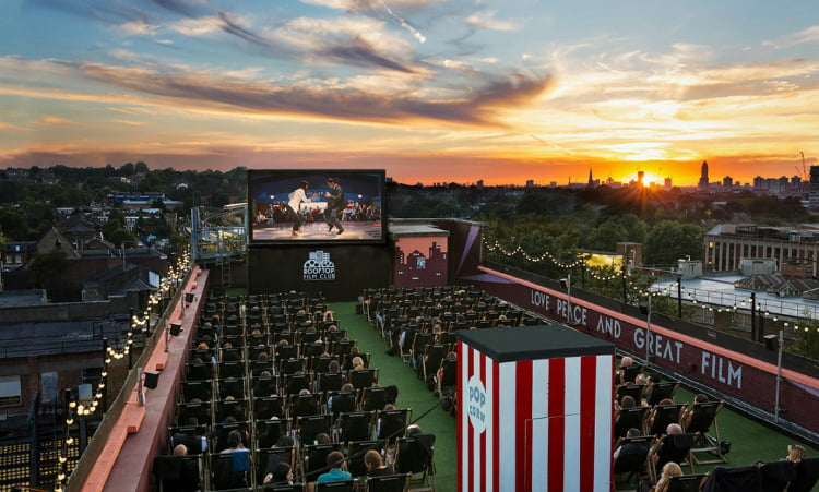 rooftop cinema date ideas