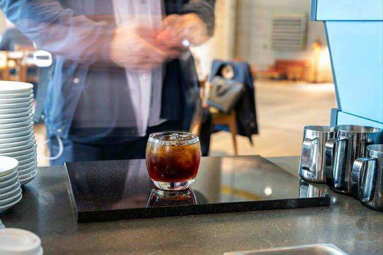 workshop iced coffee