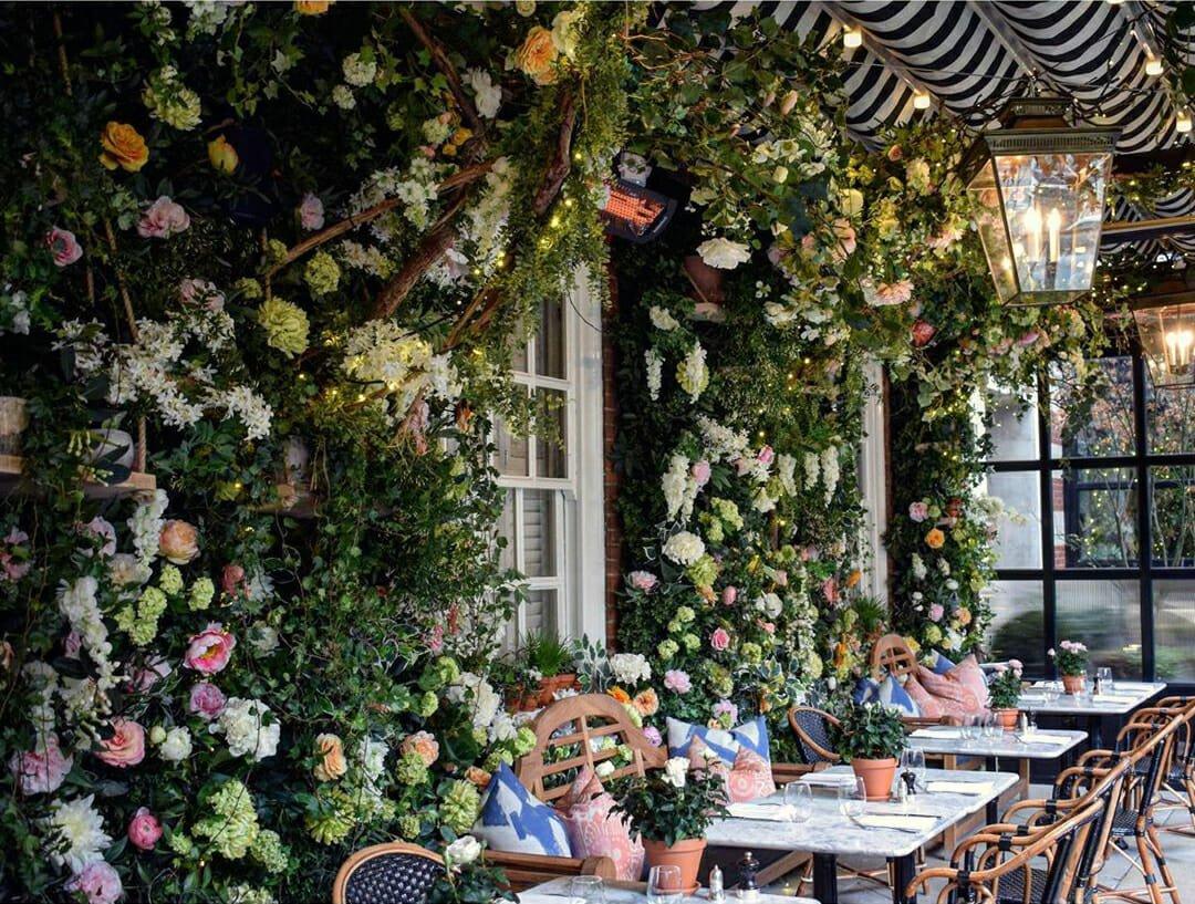 Dalloway Terrace afternoon tea London