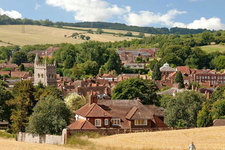 Amersham day trips from london