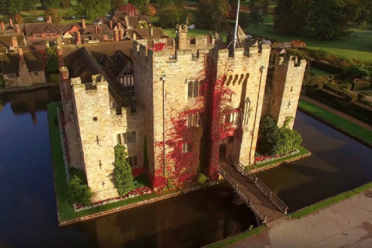 Hever Castle day trips from london