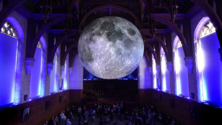 Museum of the Moon - Natural History Museum London