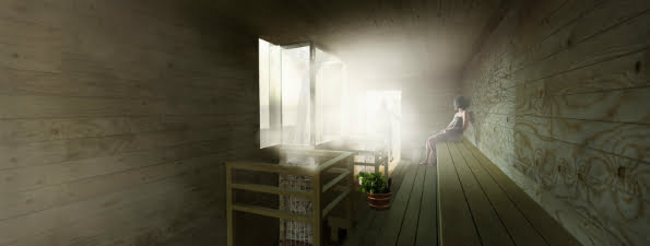 Southbank Sauna Winter Pop Ups