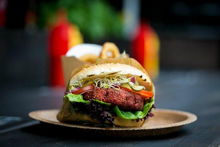 V Burger - best vegan street food London