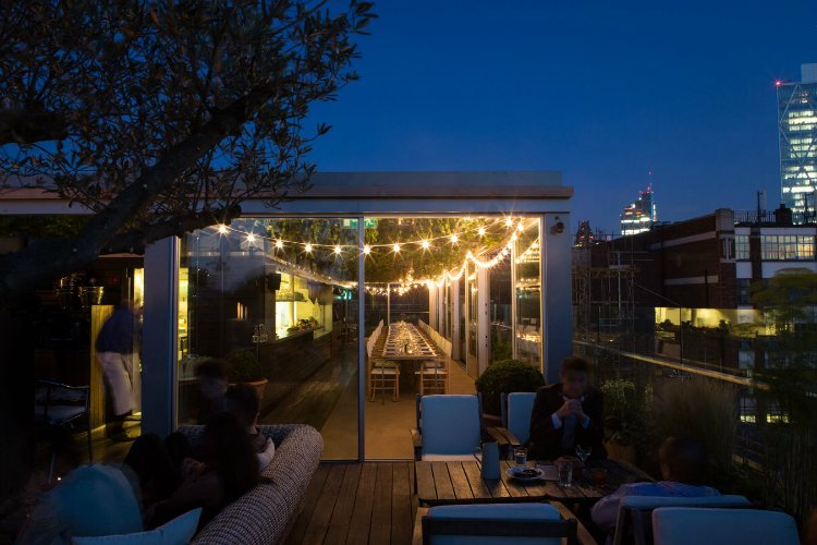 Boundary - winter rooftop bars London