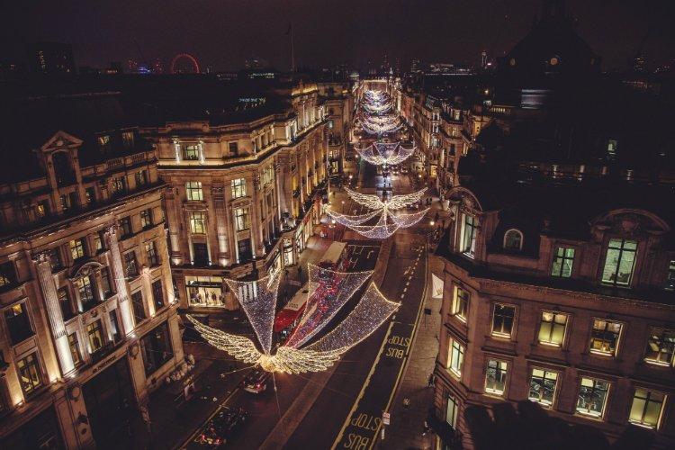 Regent Street Christmas Lights 2018
