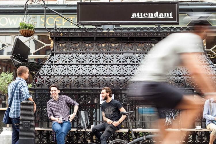 Attendant best coffee shops in London