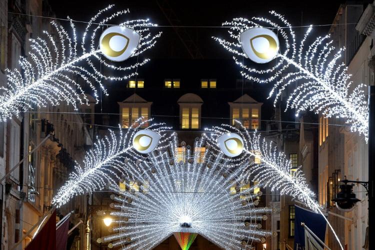 Bond Street - Christmas lights 2018