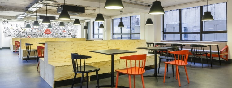 where to work in london as a freelancer