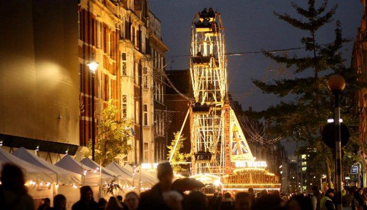 Marylebone Christmas Lights 2018