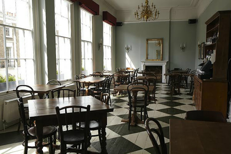 Drapers Arms Islington - best London pubs with open fires