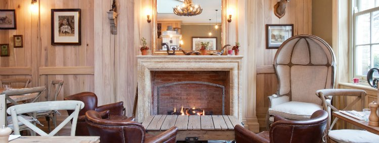 Grazing Goat - best london pubs with open fires