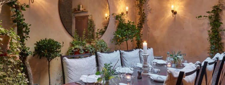 Private Dining Rooms - Luca