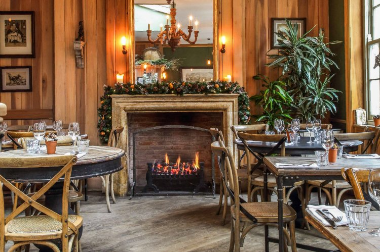 The Grazing Goat - best London pubs with open fires