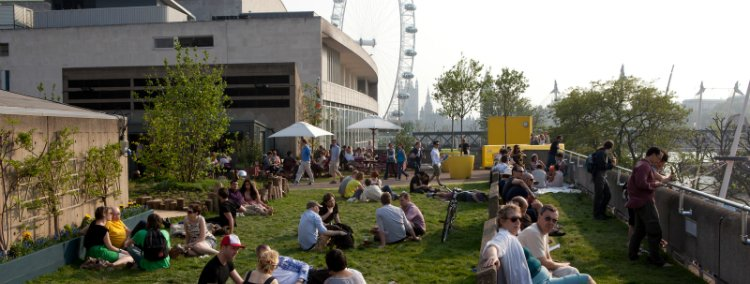 Rooftop bars in London - Southbank