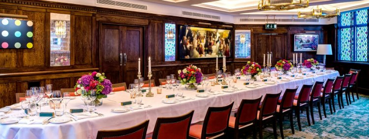 The best of london 39 s private dining rooms the nudge for Best private dining rooms covent garden