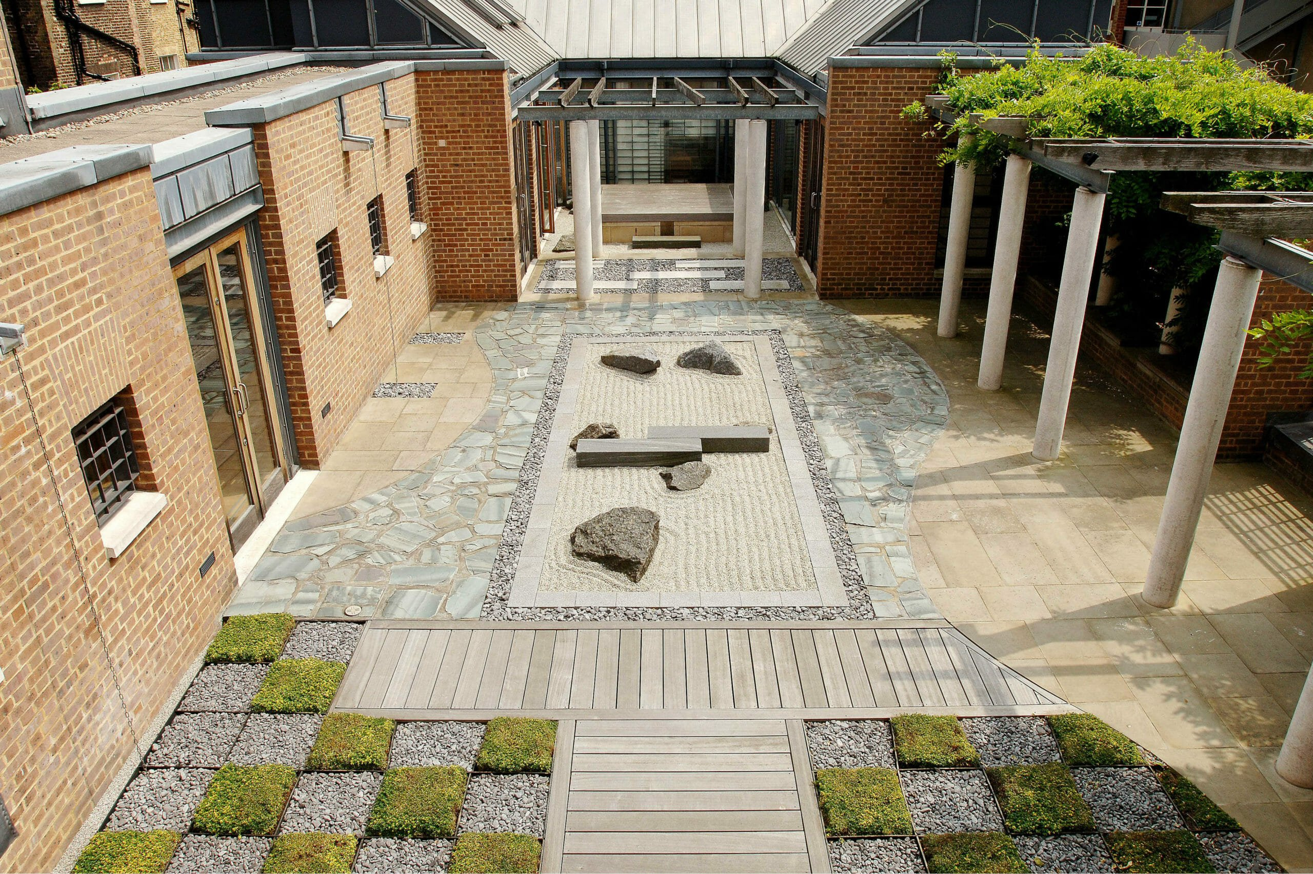 Japanese Roof Garden At SOAS