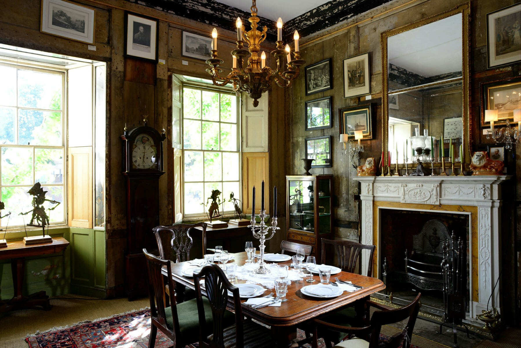 Brunswick house private dining room London