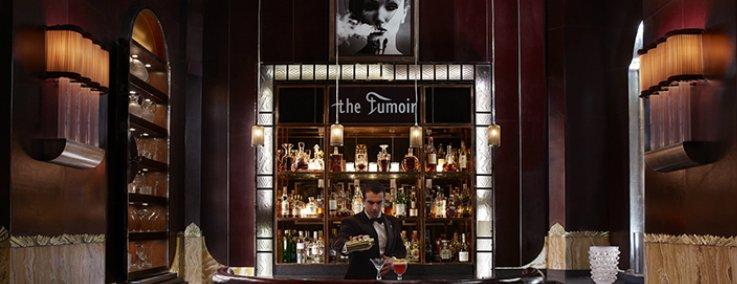 Fumoir Bar, a favourite for Stuart Andrew