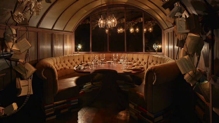 Hide private dining room London