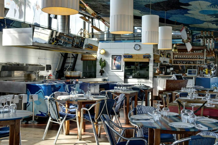 Xiringuito Escriba - best restaurants in Barcelona