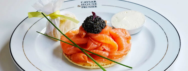 Caviar House - date ideas in St James's