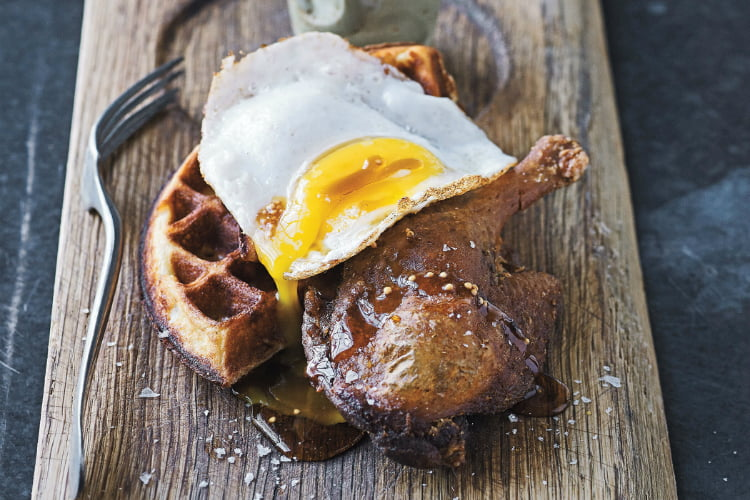 Duck and Waffle best brunch London