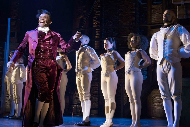 Hamilton - London theatre shows