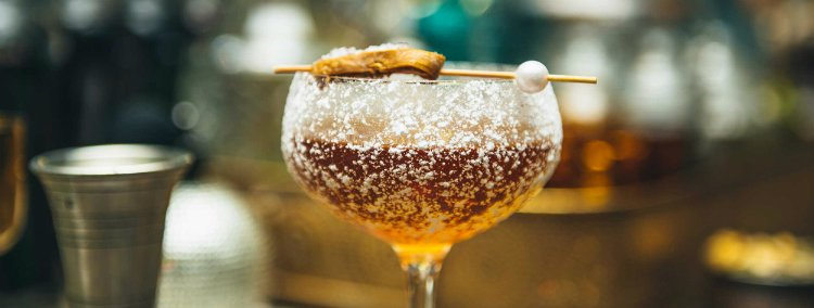 Vijay's Lounge cocktail