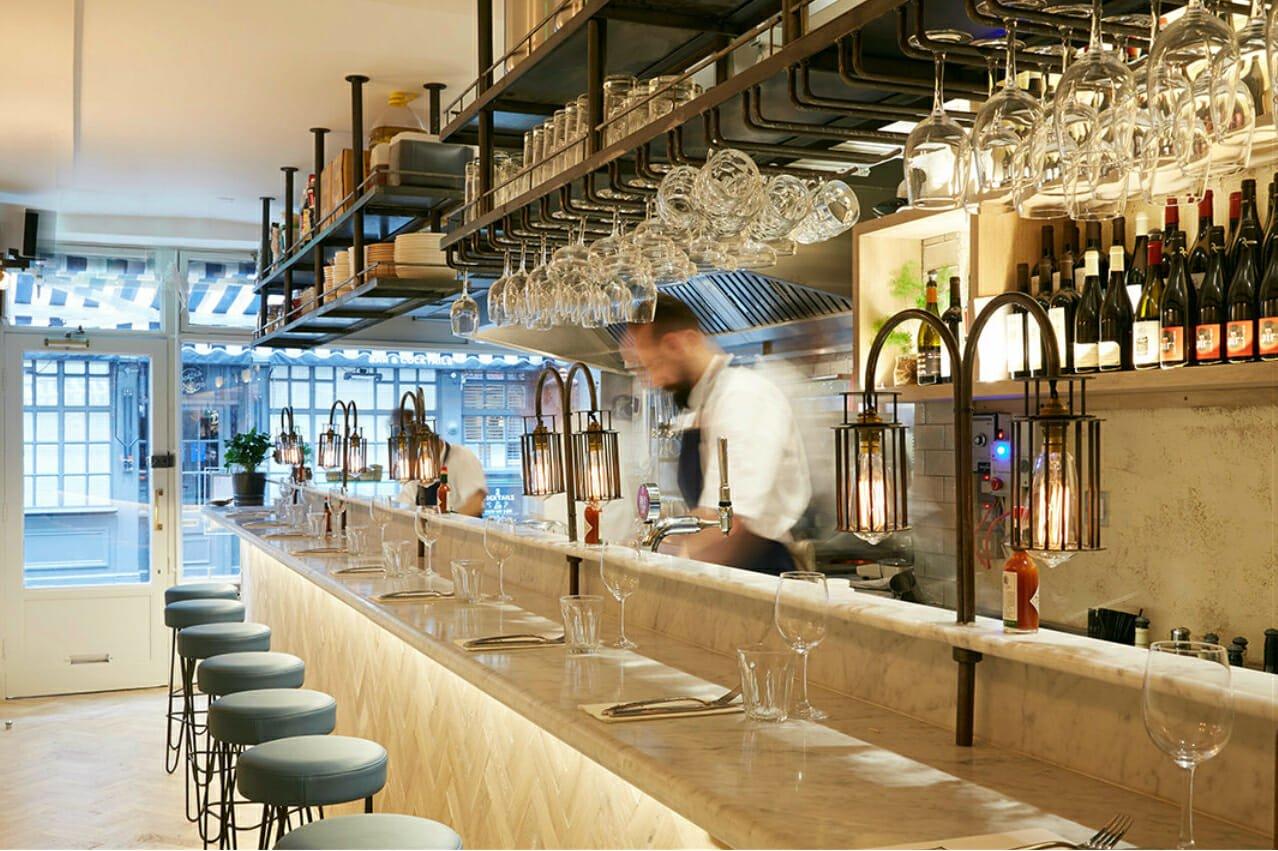 Bonnie Gull Soho restaurant