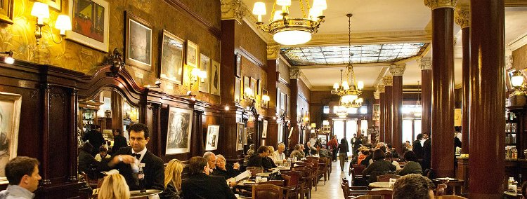 Cafe Tortoni - Buenos Aires bucket list