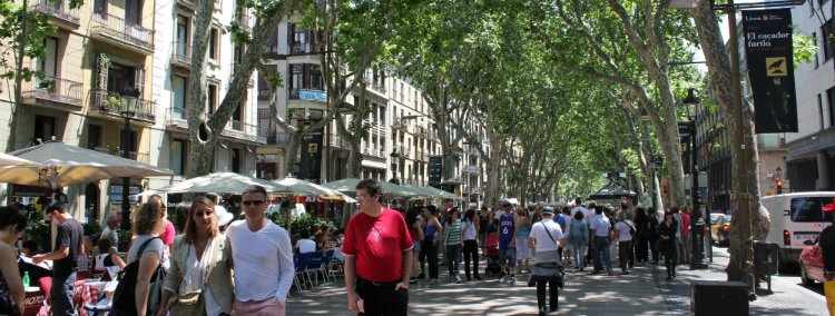 La Rambla - things to do in Barcelona