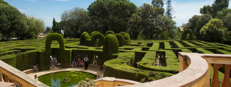 Laberint d Horta - things to do in Barcelona