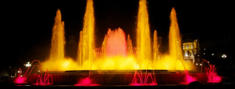 Magic Fountain - things to do in Barcelona