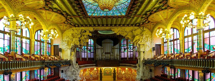 Palau de musica catalana - best things to do in Barcelona