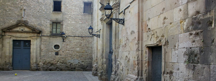 Sant Felip Neri - things to do in Barcelona