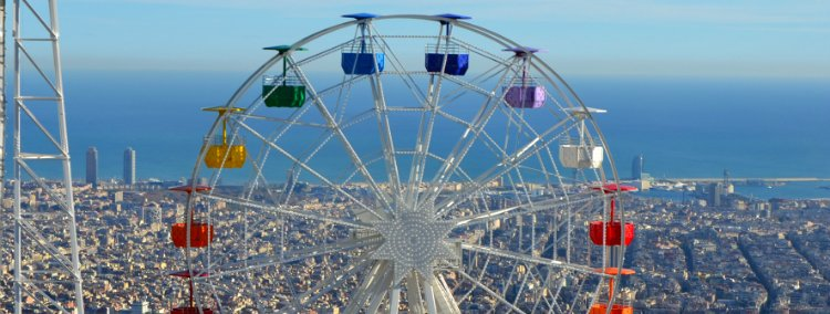 Tibidabo park - things to do in Barcelona