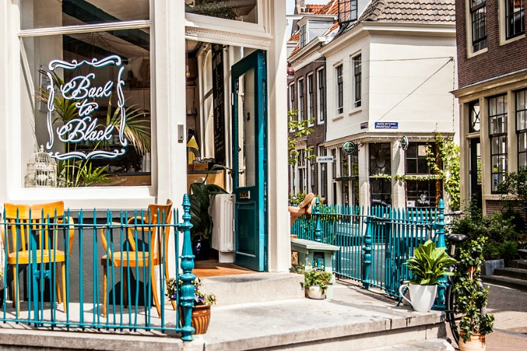 Back To Black Coffee - coolest cafes in Amsterdam